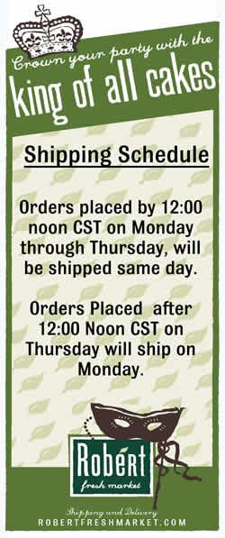 King Cake Shipping